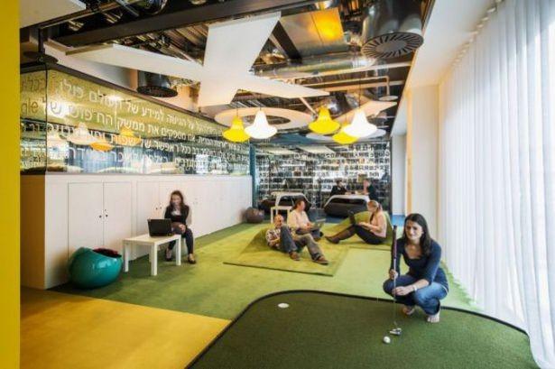 Google'ın sıradışı ofisi 4