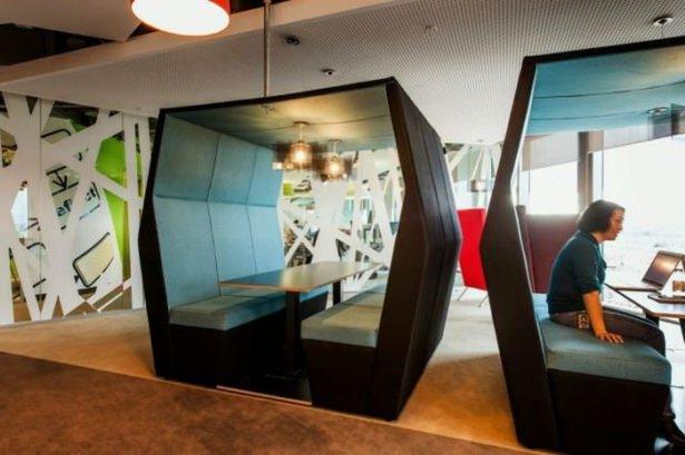 Google'ın sıradışı ofisi 40