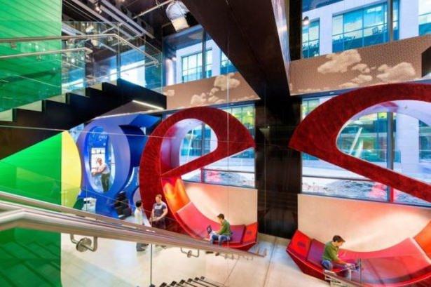 Google'ın sıradışı ofisi 41