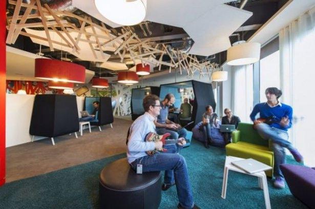 Google'ın sıradışı ofisi 43