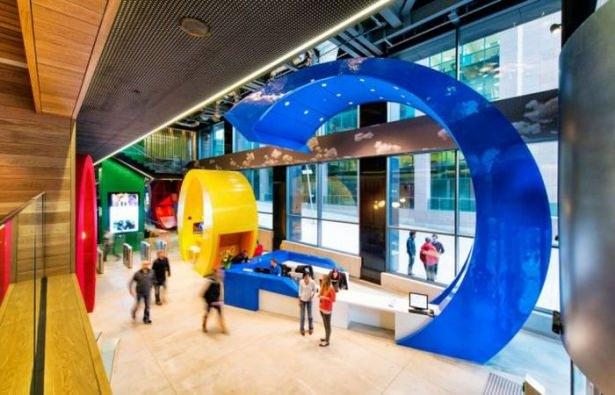 Google'ın sıradışı ofisi 45