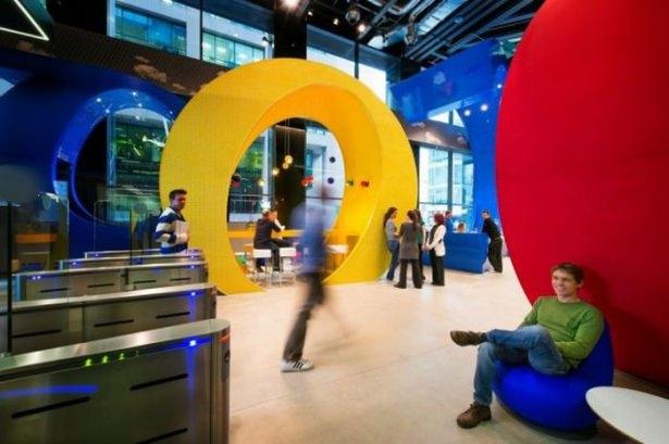 Google'ın sıradışı ofisi 46