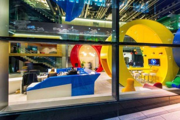 Google'ın sıradışı ofisi 47