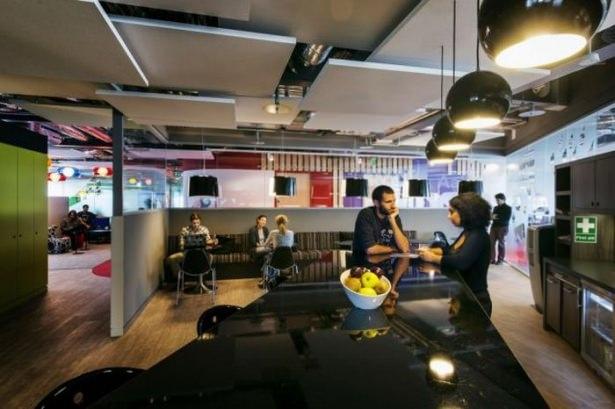 Google'ın sıradışı ofisi 48