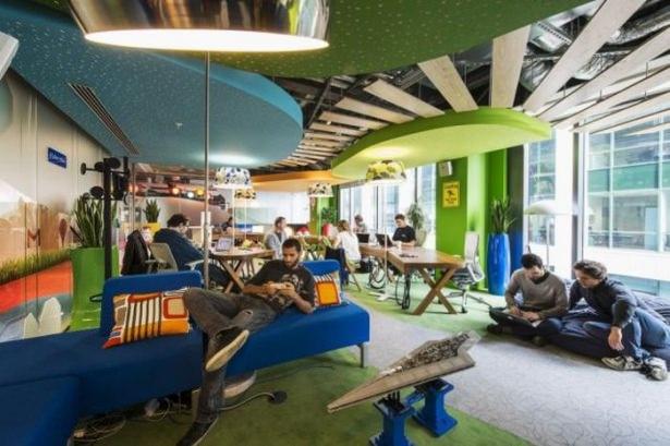 Google'ın sıradışı ofisi 49