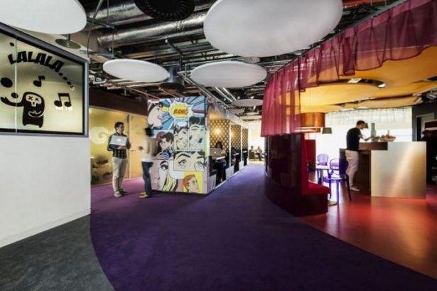 Google'ın sıradışı ofisi 5