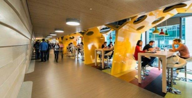 Google'ın sıradışı ofisi 50