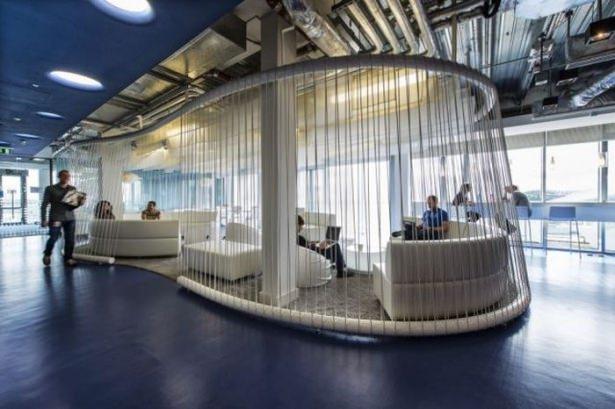 Google'ın sıradışı ofisi 56