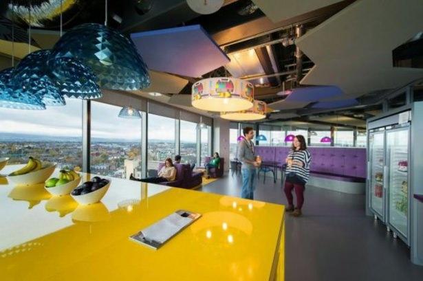 Google'ın sıradışı ofisi 6