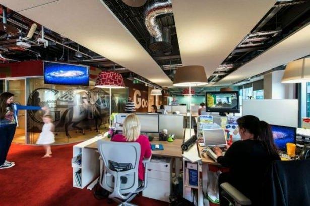 Google'ın sıradışı ofisi 61