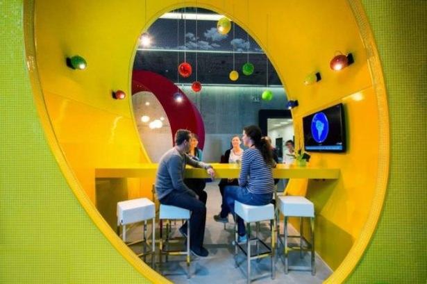 Google'ın sıradışı ofisi 63