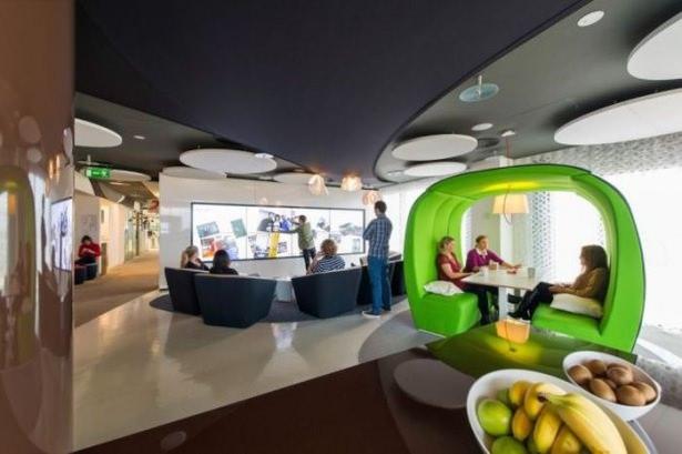 Google'ın sıradışı ofisi 64