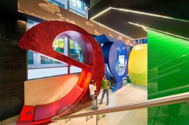 Google'ın sıradışı ofisi 71