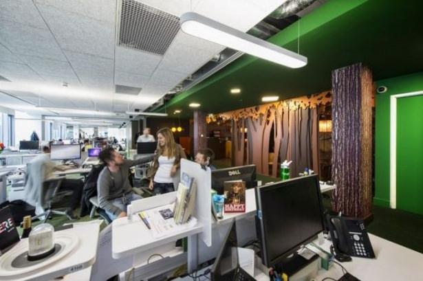Google'ın sıradışı ofisi 72
