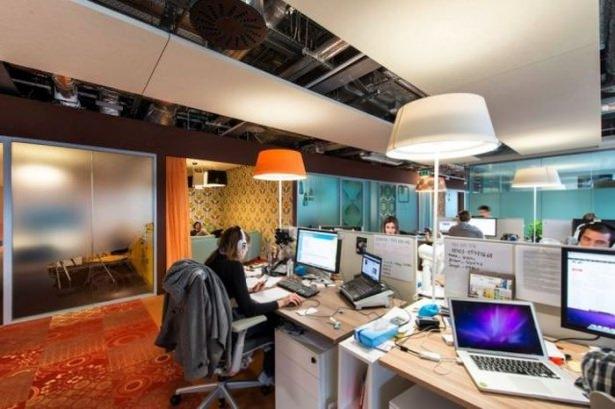 Google'ın sıradışı ofisi 73