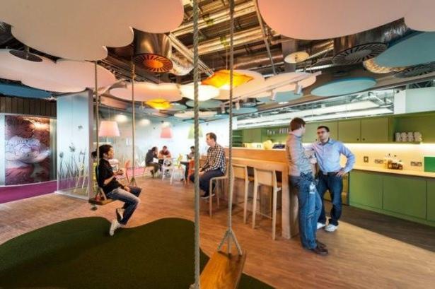 Google'ın sıradışı ofisi 9