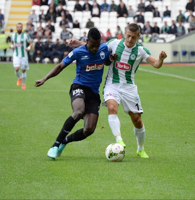 Konyaspor-Kayseri Erciyesspor Maçından Kareler 1