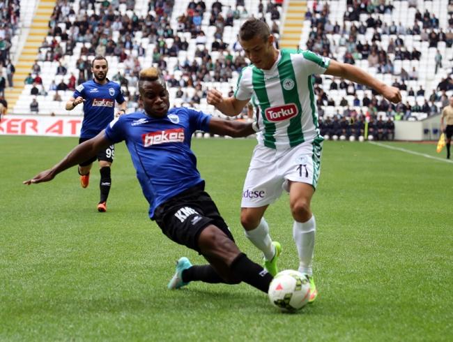 Konyaspor-Kayseri Erciyesspor Maçından Kareler 10