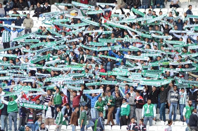 Konyaspor-Kayseri Erciyesspor Maçından Kareler 15