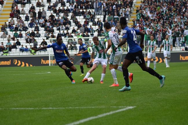Konyaspor-Kayseri Erciyesspor Maçından Kareler 26