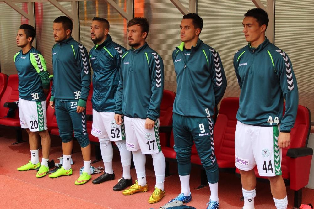 Konyaspor-Kayseri Erciyesspor Maçından Kareler 29