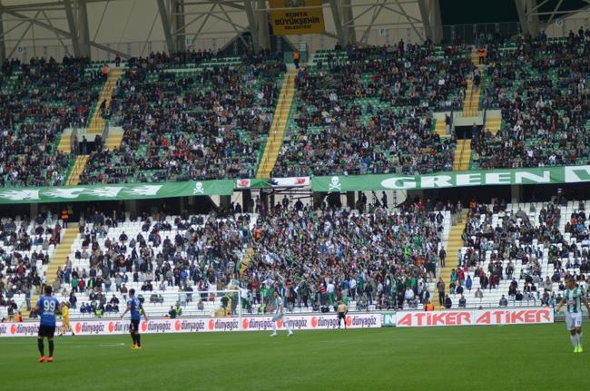 Konyaspor-Kayseri Erciyesspor Maçından Kareler 30