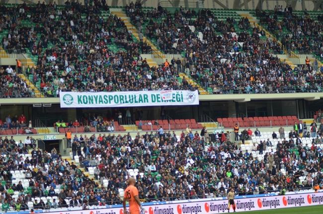 Konyaspor-Kayseri Erciyesspor Maçından Kareler 31