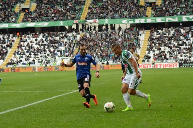 Konyaspor-Kayseri Erciyesspor Maçından Kareler 32