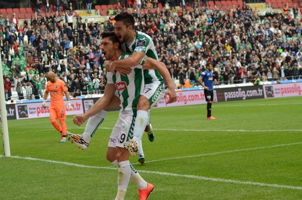 Konyaspor-Kayseri Erciyesspor Maçından Kareler 33