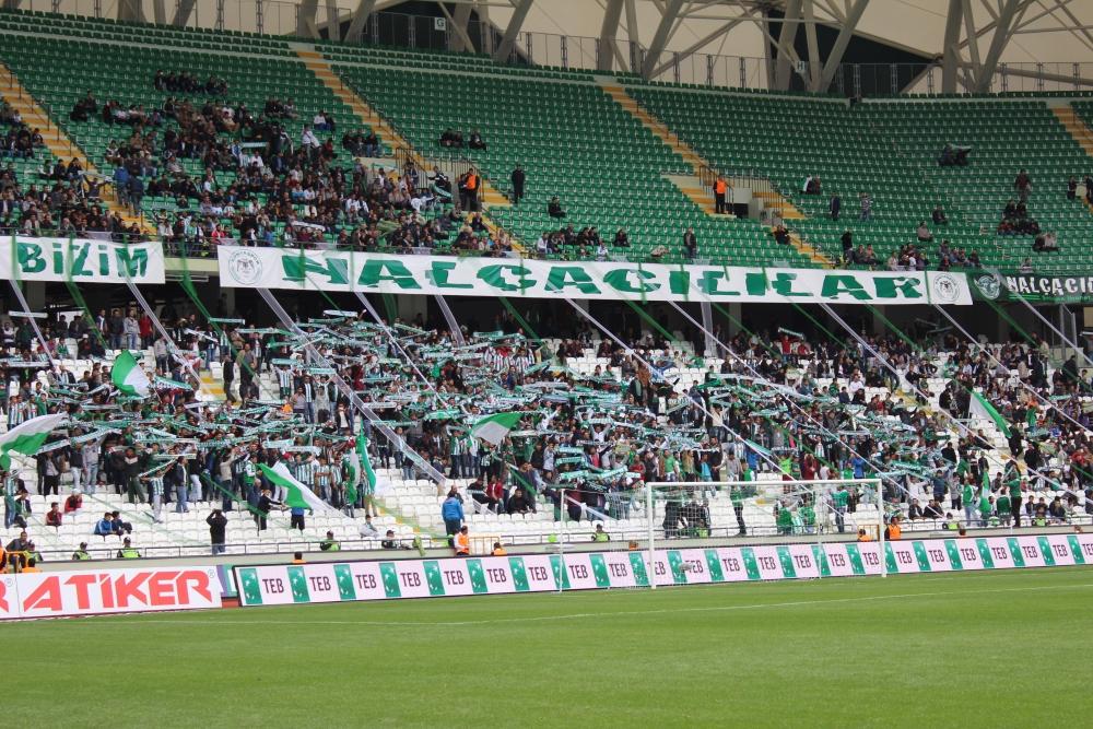 Konyaspor-Kayseri Erciyesspor Maçından Kareler 34