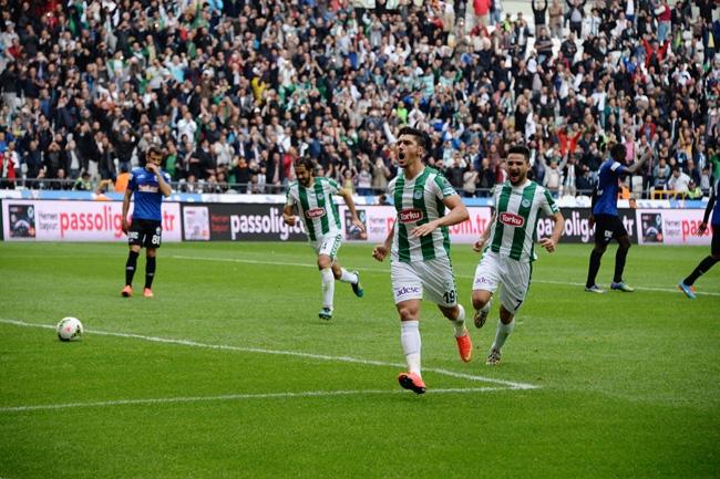 Konyaspor-Kayseri Erciyesspor Maçından Kareler 4