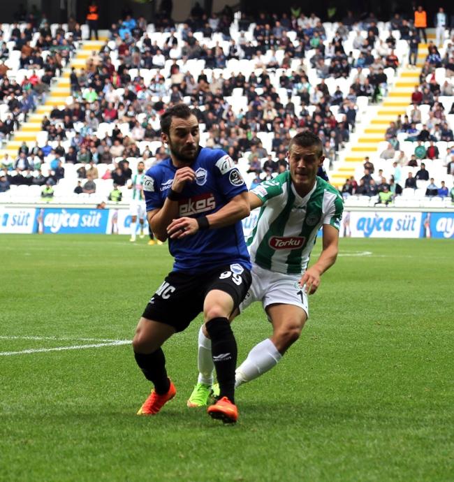 Konyaspor-Kayseri Erciyesspor Maçından Kareler 9