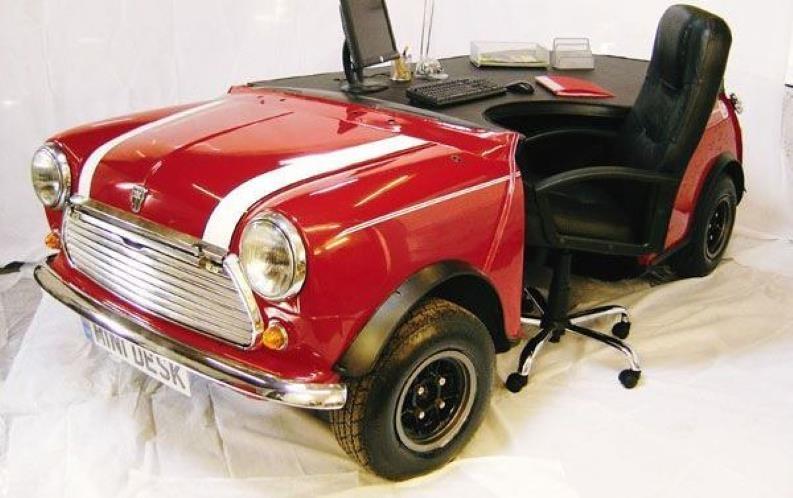 Araba Parçalarından Mobilyalar 15