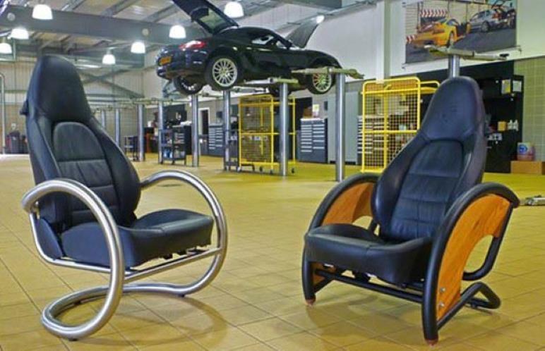 Araba Parçalarından Mobilyalar 17