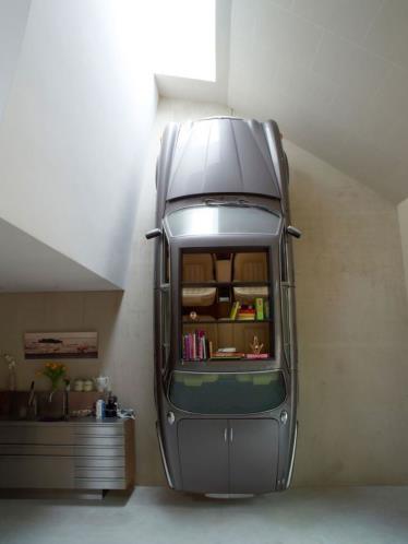 Araba Parçalarından Mobilyalar 21