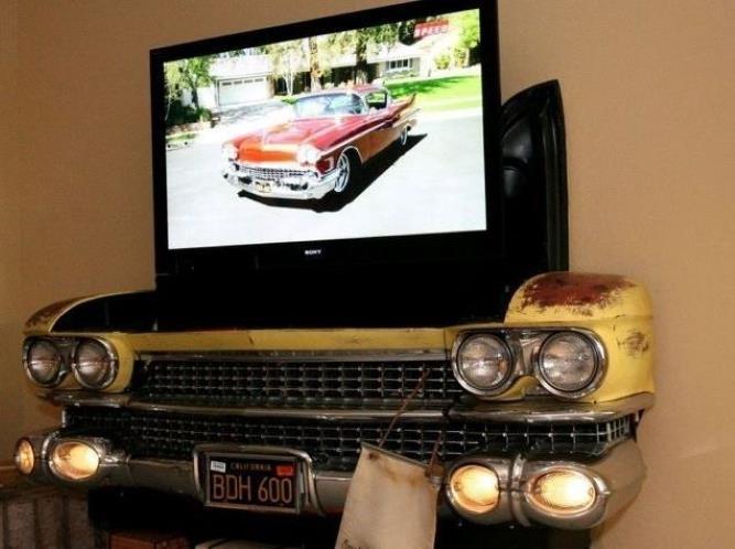 Araba Parçalarından Mobilyalar 3