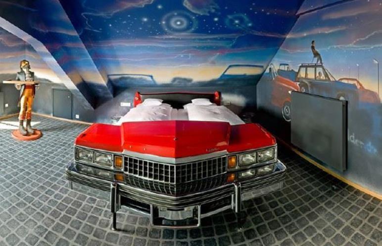 Araba Parçalarından Mobilyalar 7
