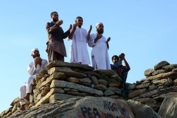 Hacı adayları Sevr dağında 1
