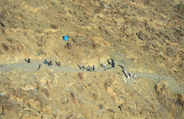 Hacı adayları Sevr dağında 10