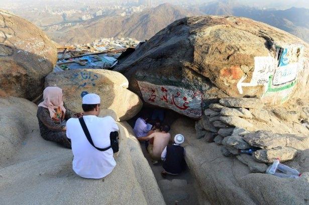 Hacı adayları Sevr dağında 11