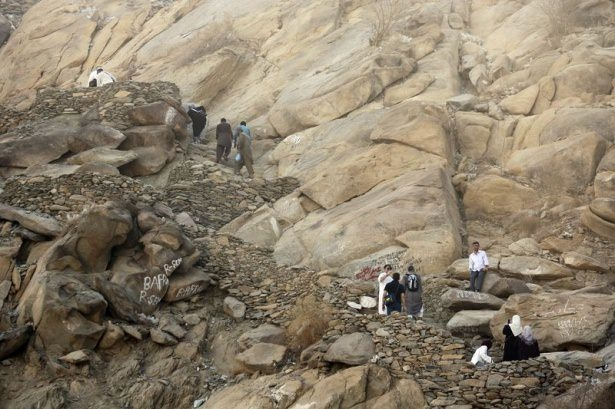 Hacı adayları Sevr dağında 12