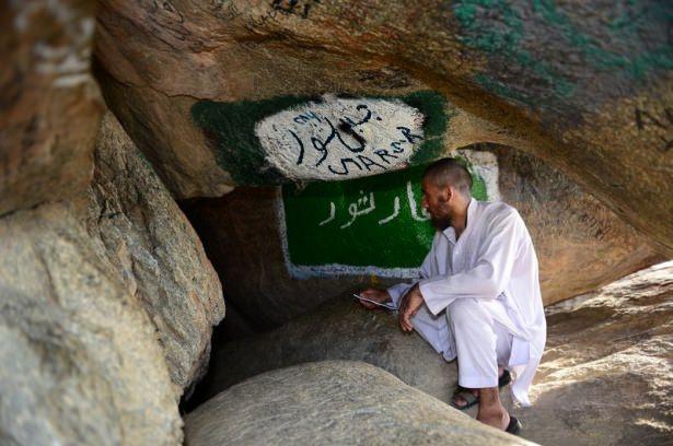 Hacı adayları Sevr dağında 13