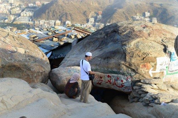 Hacı adayları Sevr dağında 15