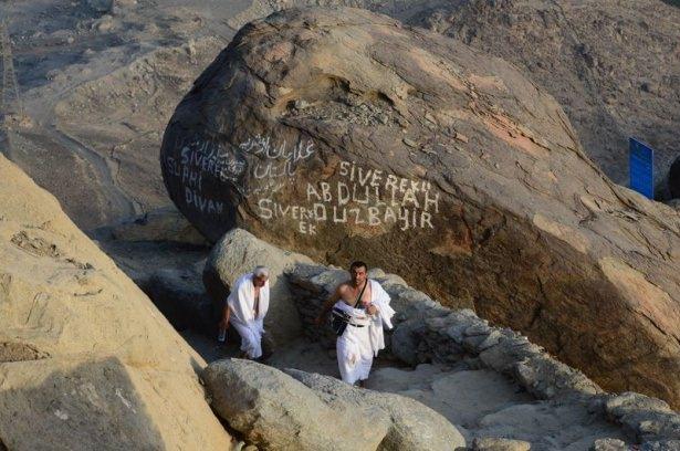 Hacı adayları Sevr dağında 16
