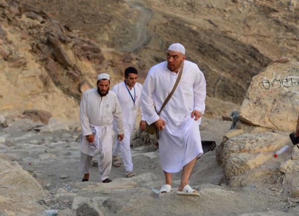 Hacı adayları Sevr dağında 20