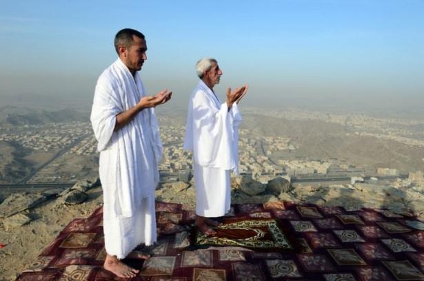 Hacı adayları Sevr dağında 21