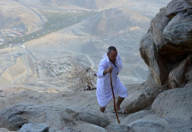 Hacı adayları Sevr dağında 22