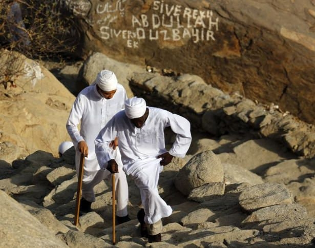 Hacı adayları Sevr dağında 25