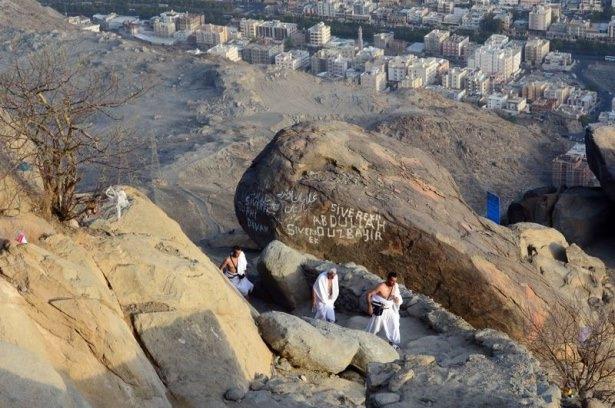 Hacı adayları Sevr dağında 7