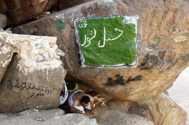 Hacı adayları Sevr dağında 9